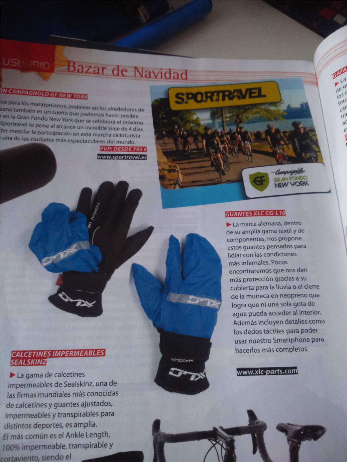Foto de guantes de invierno xlc... bazar de navidad de Bicisport